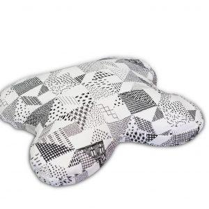 100% hamppukankaasta valmistettu tyynyliina, joka on ommeltu Tempur Ombracio -tyynyn muodon mukaisesti.