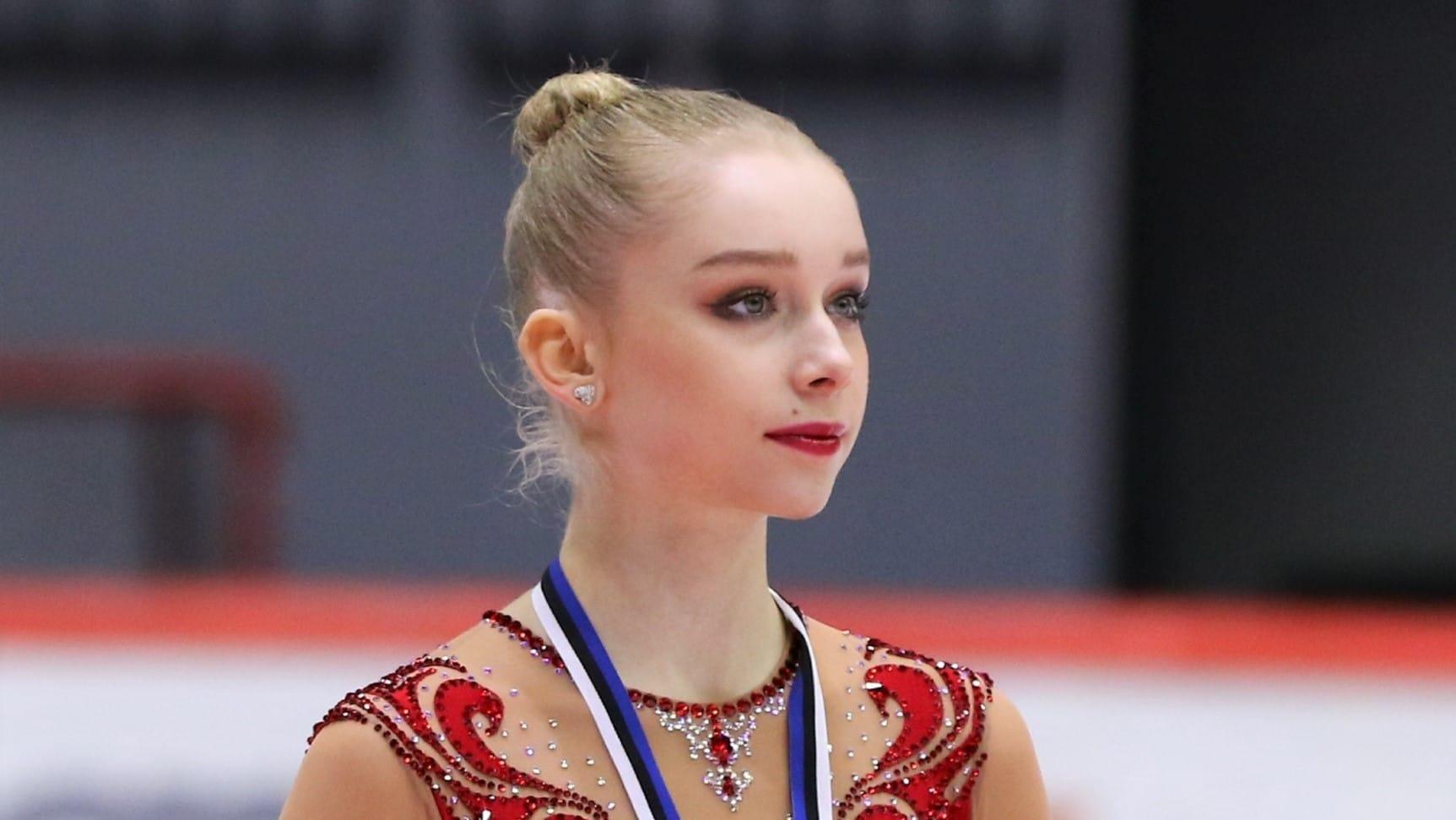 Taitoluistelija Viveca Lindfors