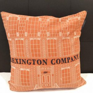 Lexington Rust/creme 50x50