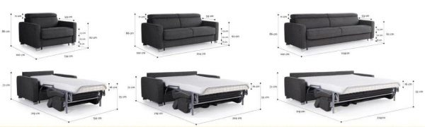 Altamura sohva mitat